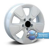 Legeartis Optima NS25 R16 / 6.5J PCD 5x114.3 ET 40.0 ЦО 66.1 Литой / Белый