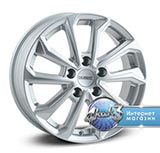 Колёсный диск Dezent KS silver R17 / 7.0J PCD 5x115.0 ET 44.00 ЦО 70.20 Литой / Серебристый