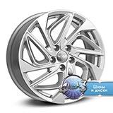Колёсный диск КиК ZV Outlander КС883 R18 / 7.0J PCD 5x114.3 ET 38.00 ЦО 67.10 Литой / Насыщенный серебристый