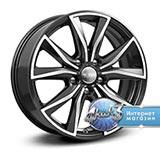 Колёсный диск КиК ZV Sportage KC867 R17 / 7.0J PCD 5x114.3 ET 45.00 ЦО 66.10 Литой / Черный с полированной лицевой поверхностью