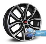 Колёсный диск Legeartis Concept B530 R17 / 7.5J PCD 5x112.0 ET 30.0 ЦО 66.6 Литой / Черный матовый с полированной лицевой поверхностью