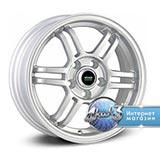 Колёсный диск Megami MGM-8 R15 / 6.0J PCD 4x100.0 ET 36.00 ЦО 60.10 Литой / Серебристый