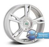 N2O Y9113 R16 / 6.5J PCD 5x114.3 ET 45.0 ЦО 60.1 Литой / Серебристый с полированной лицевой поверхностью