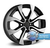 Колёсный диск Replica H Re52H R15 / 6.0J PCD 4x100.0 ET 50.00 ЦО 60.10 Литой / Черный с полированной лицевой поверхностью