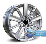 Колёсный диск RPLC VW11 R14 / 5.0J PCD 5x100.0 ET 35.0 ЦО 57.1 Литой / Серебристый