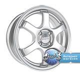 Колёсный диск Скад Киото R15 / 6.0J PCD 4x100.0 ET 45.0 ЦО 67.1 Литой / Насыщенный серебристый