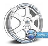 Колёсный диск Скад Киото R15 / 6.0J PCD 4x100.0 ET 45.0 ЦО 67.1 Литой / Белый с полированной лицевой поверхностью