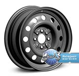 Колёсный диск ТЗСК VAZ 2112 R14 / 5.5J PCD 4x98.0 ET 35.00 ЦО 58.50 Стальной / Серый