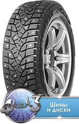 Bridgestone SPIKE-02 215/50R17  91T