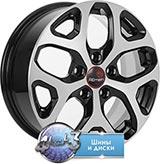 Колёсный диск Remain Toyota Corolla (R174) R16 / 6.5J  PCD 5x114.3 ET 45 ЦО 60.1 Литой/Алмаз-черный