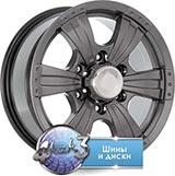 Колёсный диск Скад Рейнджер R16 / 7J  PCD 5x139.7 ET 35 ЦО 109.7 Литой/Графит