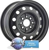 Колёсный диск ТЗСК ВАЗ-08 R13 / 5.5J  PCD 4x98 ET 35 ЦО 58.6 Стальной/Черный-глянец